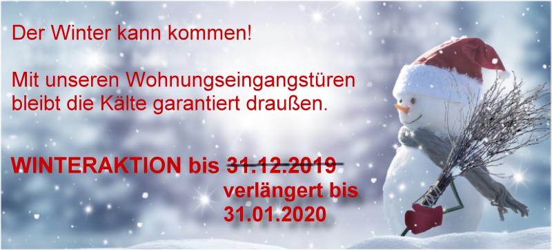 Winteraktion 2019/2020 bei Tür-und-Zarge.de