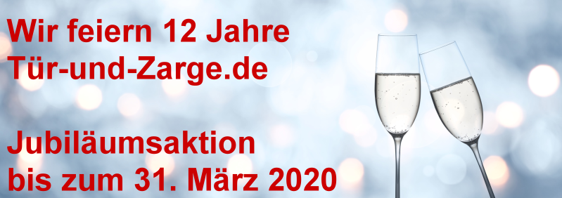 Jubiläumsaktion bei Tür-und-Zarge.de
